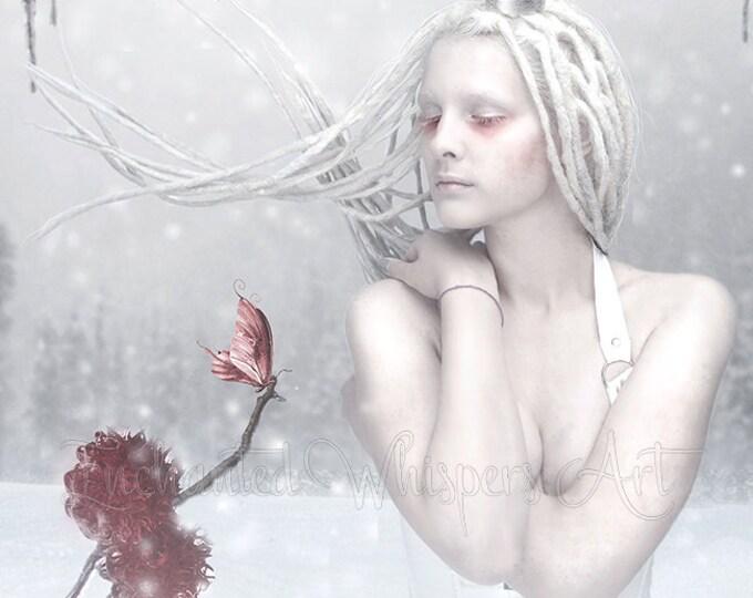 Ice Queen fantasy art print