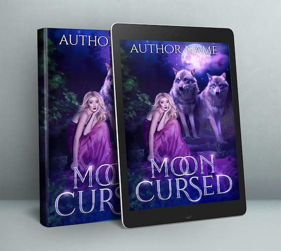 Premade paranormal wolves cover design
