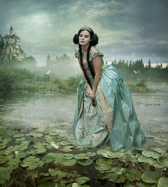 Ophelia fantasy art print by Enchanted Whispers
