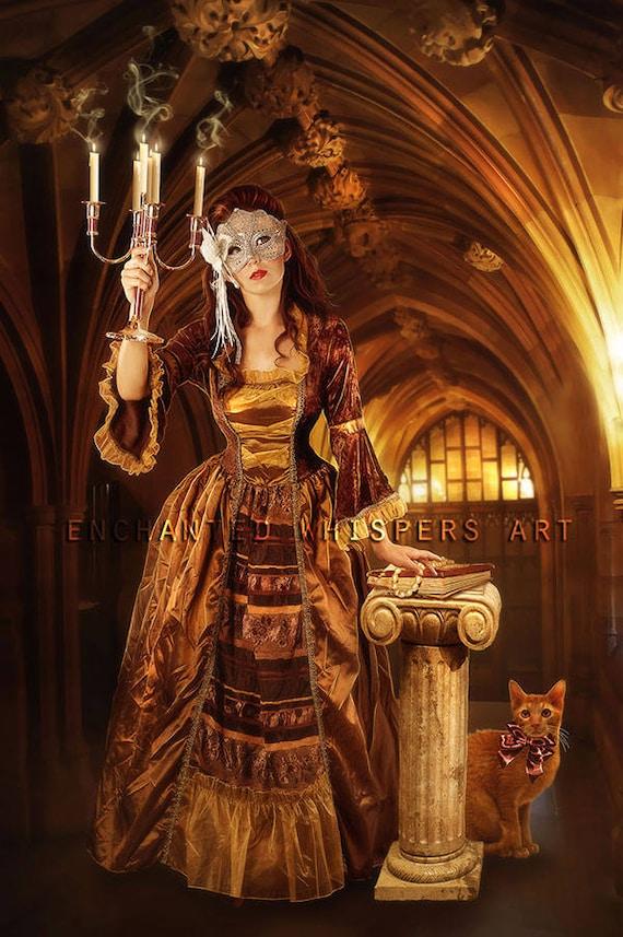 fantasy Masquerade art print