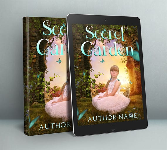 premade children's fantasy cover art for indie self publishing authors