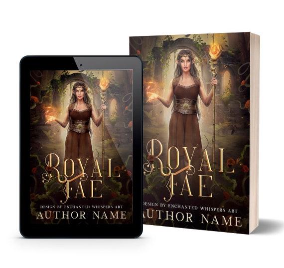 Royal Fae fantasy elven premade book cover art