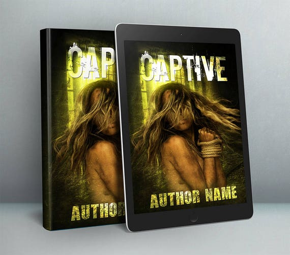 Premade horror cover art design for authors