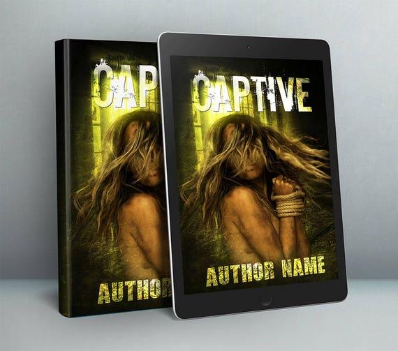 Premade horror cover art design for authors