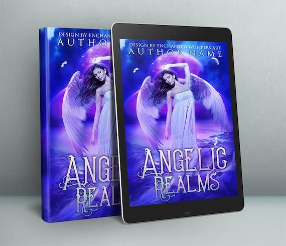 premade fantasy Angel cover art