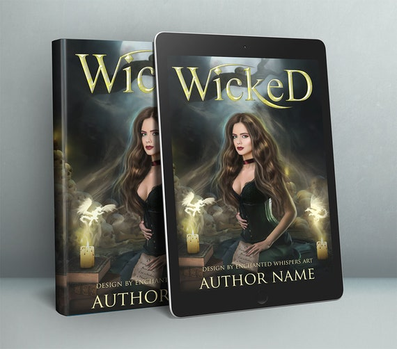 Dark Witch premade cover design for Indie or self publishing authors