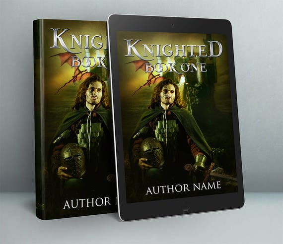 Historical fiction premade book cover