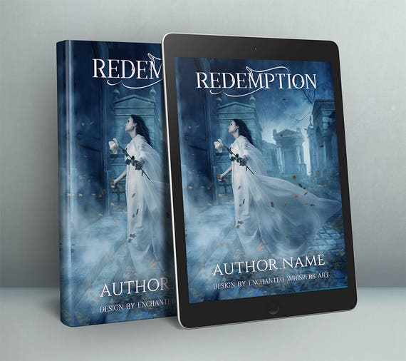 Paranormal Gothic premade cover art for ebook or paperback