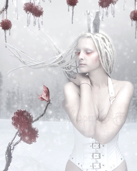 Ice Queen fantasy art print
