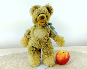 Steiff Lully Baby Bear with button vintage 1970s, largest 11 inches