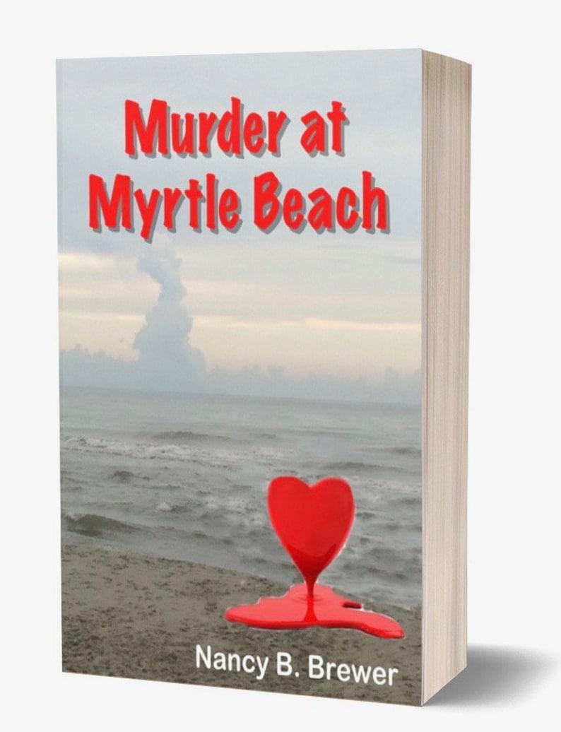 Murder at Myrtle Beach by Nancy B. Brewer image 0
