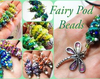 Wool beads tutorial, how to make wool beads, video tutorial, bead tutorial, fairy beads, fantasy beads, fairy jewellery, fairy pendant, wool