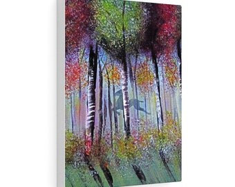 The Leap Of Faith  Stretched Canvas