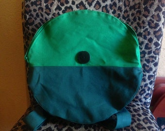 Adventure Time Finn/Fionna backpack (handmade and fully functional)