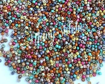 11/0 Dippin' Dots (my custom Toho mix) 15grams