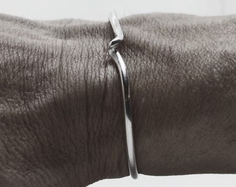 Dainty Silver Stacking Cuff, Women Cuff, Jewelry Gift Ideas For Wife, Mom and Friend