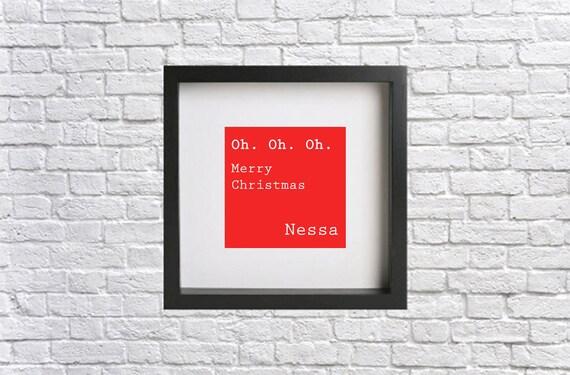 Funny Nessa Oh Oh Oh Carte de Noël-Gavin et Stacy