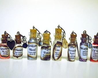 Harry Potter Potion Bottle Necklace
