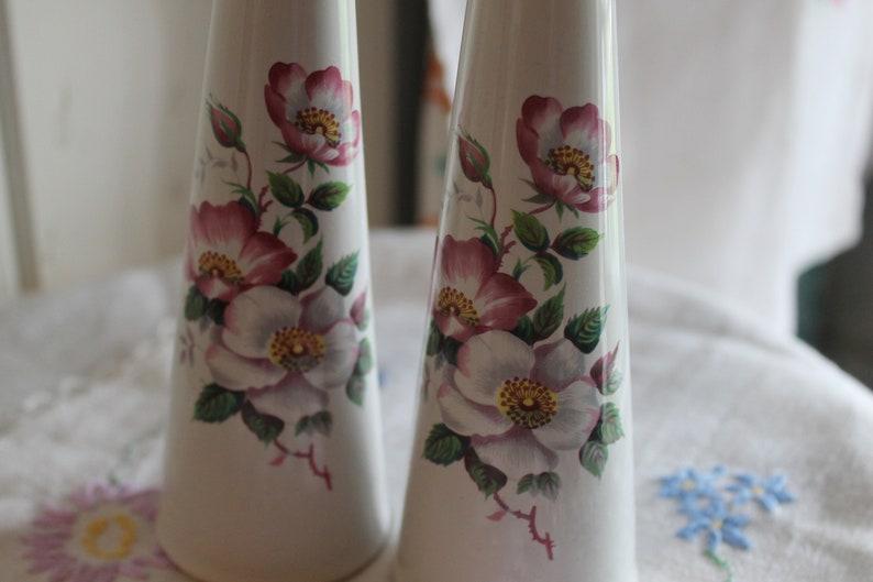 Floral Salt and Pepper Set