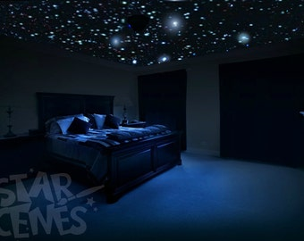 Exceptionnel Ceiling Stars For Romantic Bedroom   DIY Glow In The Dark Star Decals.  Surprise Anniversary Gift   Celestial Skies! Free Gift Wrapping.