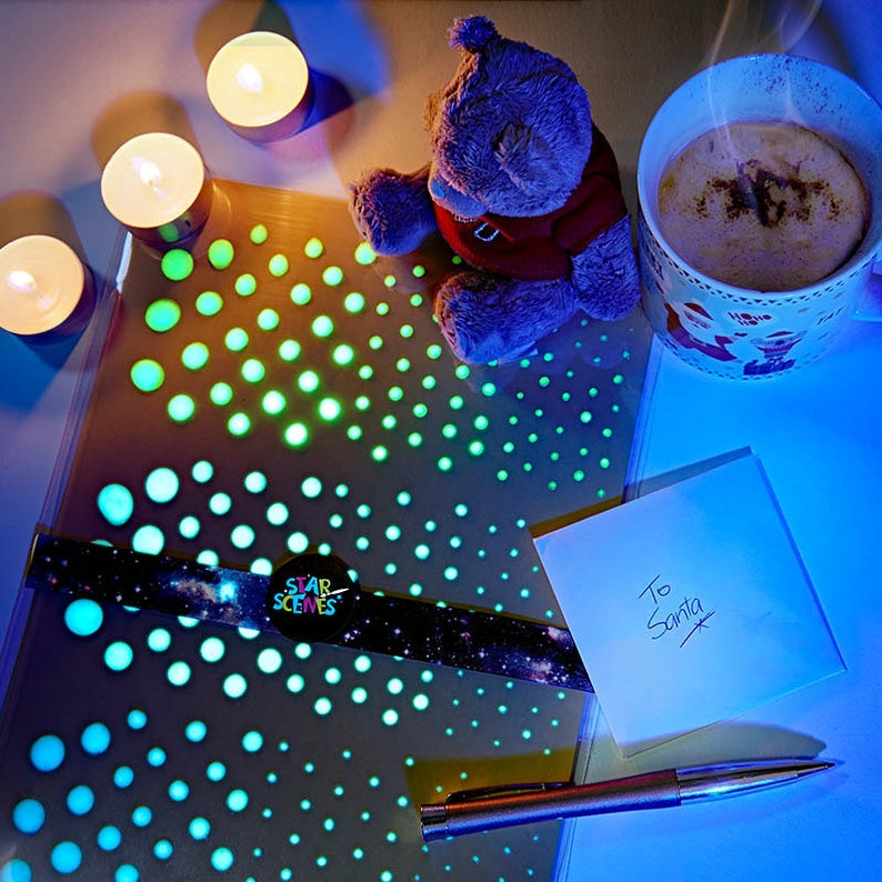 Best Quality Glow in the Dark Stars Star Ceiling Decals Ceiling Stars Tiny Star Stickers for Space Nursery Decor DIY Night Sky Wall Art