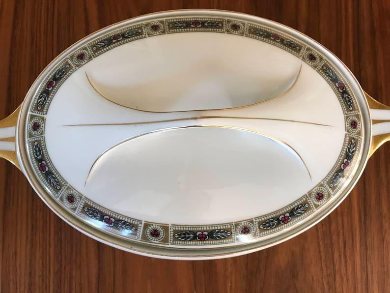 Vintage ROSENTHALE Selb-BAVARIA DONATELLO Patented CoveredHandled Casserole Dish