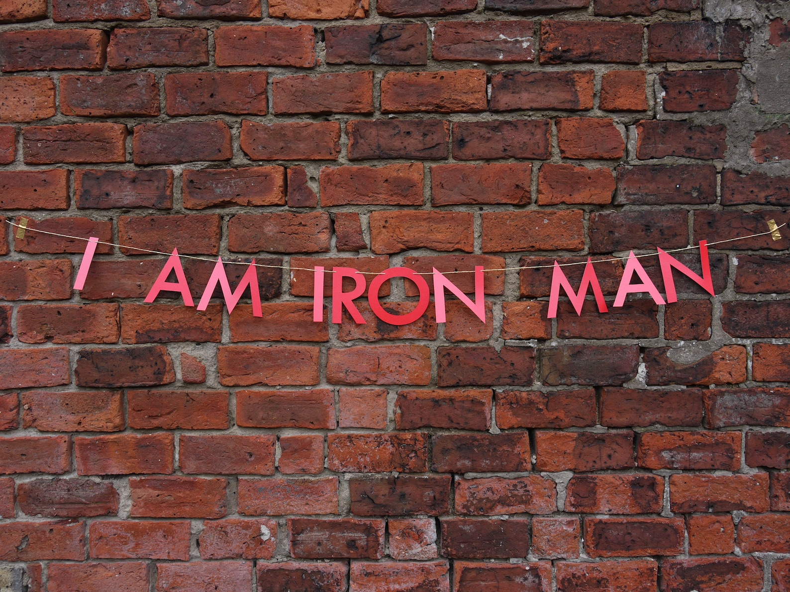 Iron Man Word Banners