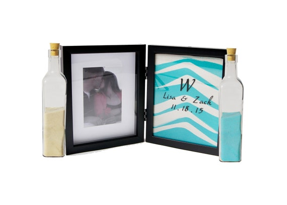 ON SALE!! Double Hinged Sand Ceremony Frame with FREE ...