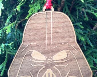 Star Wars Darth Vader Stylized Wooden Ornament