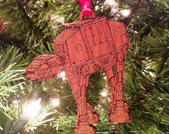 Star Wars AT-AT Wooden Ornament