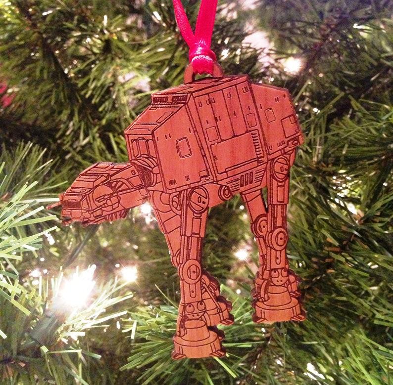 Star Wars AT-AT Wooden Ornament image 0