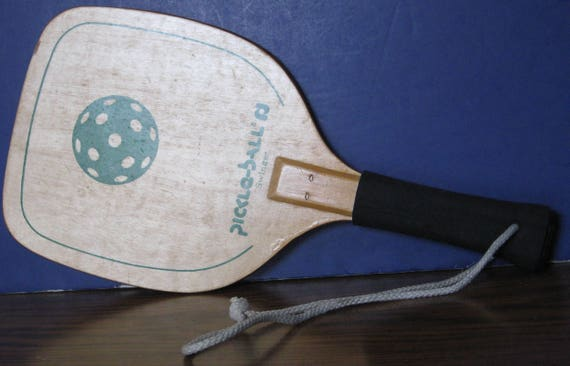 Pickleball swinger wood paddle picture 738