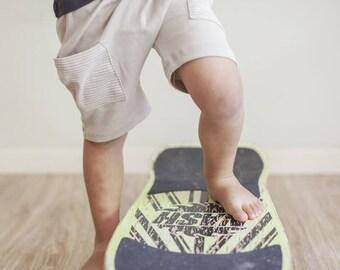 Boy Toddler Shorts - Toddler Boy Shorts, Toddler Shorts, Kids Shorts, Toddler Boys Clothes, Toddler Clothes - Beige