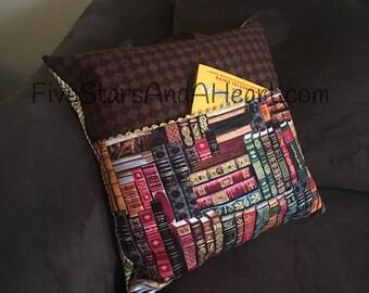 Reading Pillow, Reading Pillow Cover, Pillow Cover, Slipcover, Reading Pillow, Book Pillow, Children's Pillow, Book Lover Gift, Reading Gift