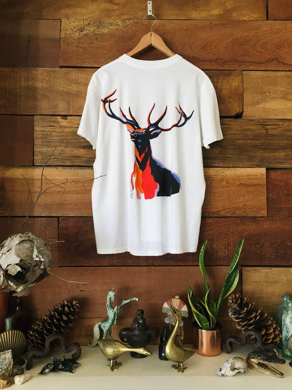 Vintage Bucks Cigarette Shirt - Pocket Tee - The A