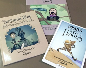 Children's Book Package (3 books!) Written and Illustrated by C. Spliedt