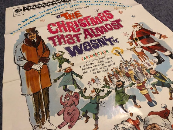 Christmas That Almost Wasn T.The Christmas Thsf Almost Wasn T Movie Poster