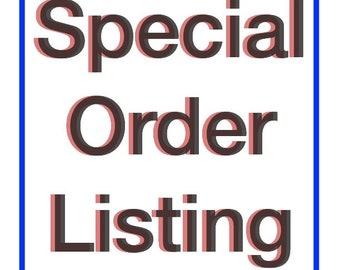 Special adding listing