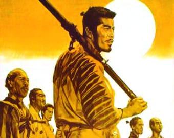 Seven Samurai Magnet