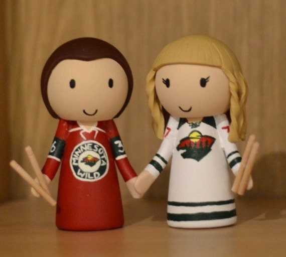 hockey wedding cake toppers canada wedding cake topper hockey jersey and drum etsy 15264