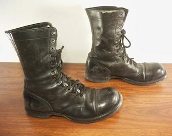 5682f83642c Black jump boots | Etsy