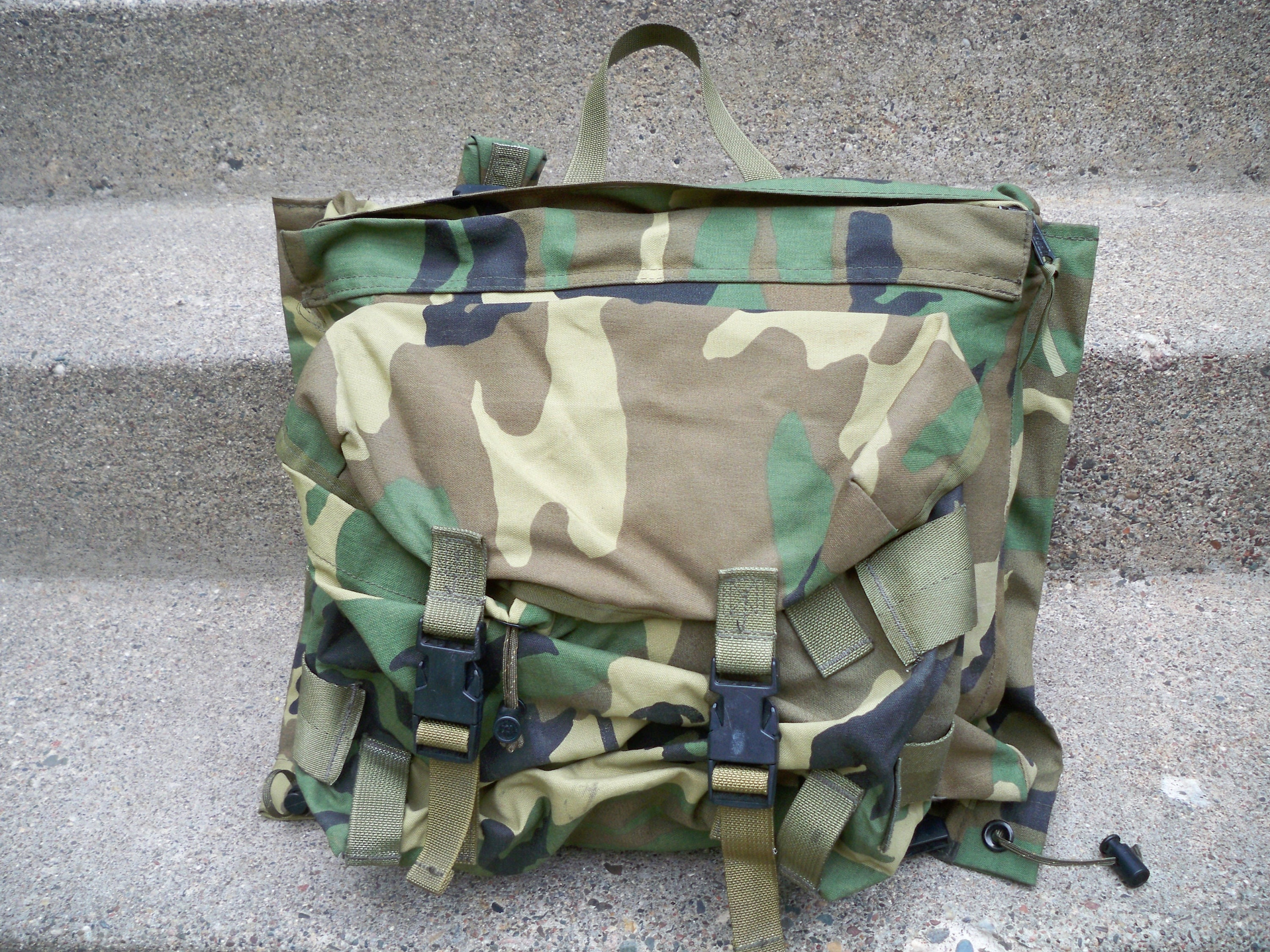 Us Army Camouflage Backpack - Swiss Paralympic