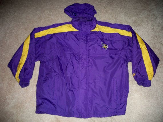 info for 11fca e7542 Vintage Puma Minnesota Vikings NFL Starter Football Parka Jacket Coat Men's  Size 2XL 2xlarge