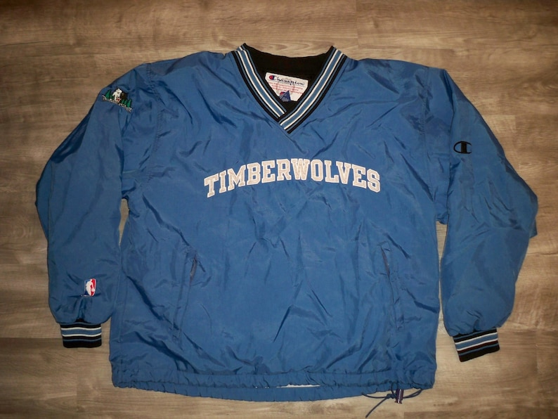 42f5f9eea1bc Vintage Champion Minnesota Timberwolves NBA Men s