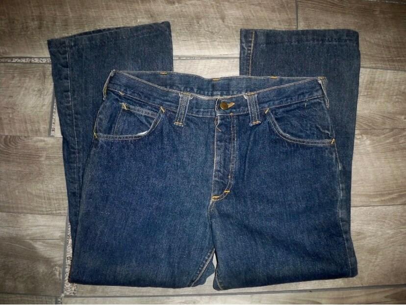 1960s – 70s Men's Ties | Skinny Ties, Slim Ties Vintage 1960s Lee Selvedge Blue Denim Jeans Mens Size 31 Made in Usa $0.00 AT vintagedancer.com