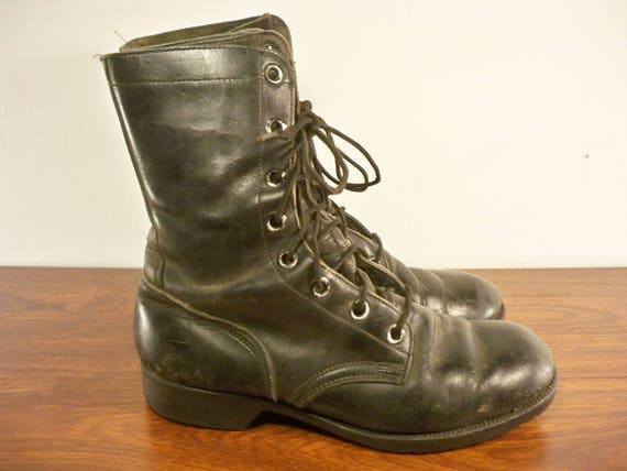 Nam Toe dat Vintage Vietnam bottes militaire travail Guerre du combattre hommes Soft le cuir Biker xgHwzt6w