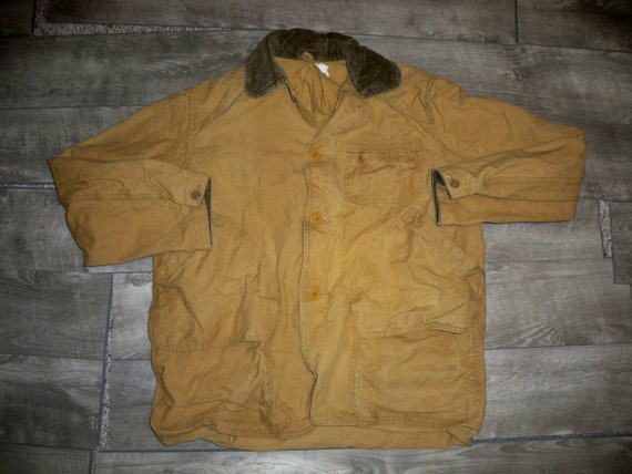 Vintage 40's DUXBAK? Outdoor Men's Jacket Coat Hun