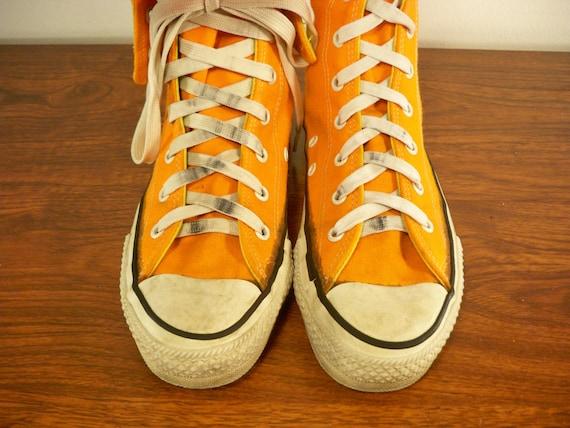 Vintage 70's CONVERSE Shoes Phil Esposito STREET HOCKEY