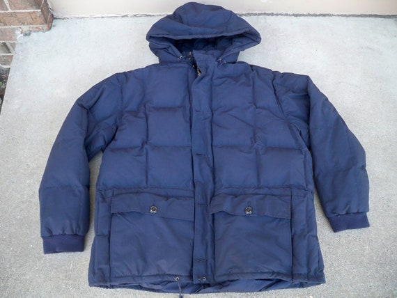 Xxlarge Parka Navy Lauren Men's Blue Puffer Vintage Size Ralph Polo Jacket Coat Xxl Down D2H9IE