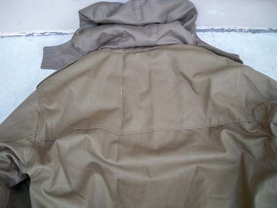 Field Sherpa Lined Parka Military Drab Republic Large Issue Vintage Army Men's Czech Overcoat Jacket 1wxgR4xIBq